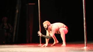 Mr Pole Dance 2013 - Andre Corey