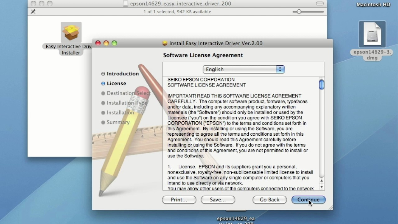 Epson BrightLink Projectors | How to Install Easy Interactive Driver on a  Mac