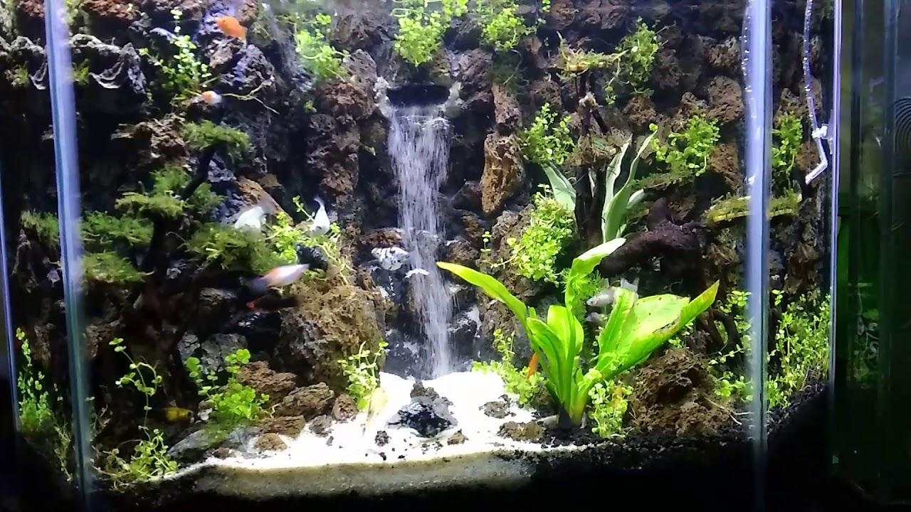 Air terjun aquascape - YouTube
