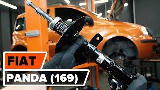 Hoe een veerpoot vooraan vervangen op een FIAT PANDA (169) [HANDLEIDING AUTODOC]