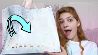 Summer Clothes Shopping and Haul First Time Trying Altar d State