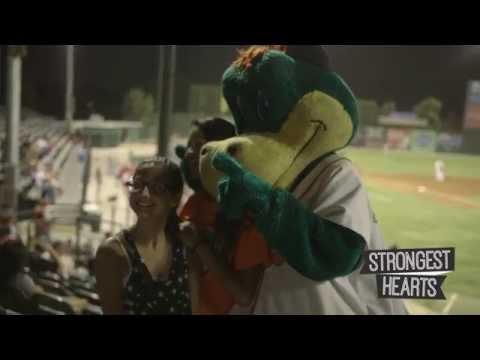 Strongest Hearts Extra; Heater the Bakersfield Blaze Mascot