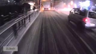 Repeat youtube video 雪だ!都内だ!自転車通勤だ!(東京大雪2014年2月14日。秋葉原~高円寺のはずが...)