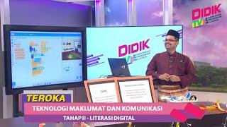 Teroka (2021)   Tahap II : Literasi Digital – Teknologi Maklumat Dan Komunikasi
