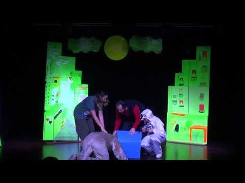 Pati Sokağı (black light tiyatro) tanıtım