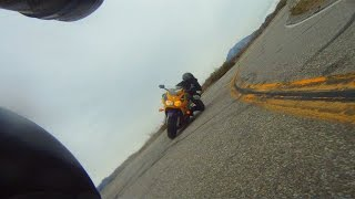 Who says old bikes aren't Fast? - CBR900 RR Canyon Carving