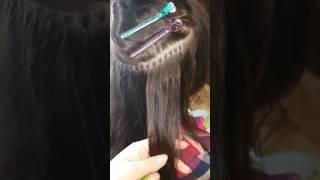 Микро наращивание волос  спб