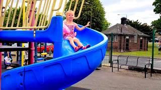 Кукла Беби Бон Катя детская площадка Игры для детей. Видео для детей