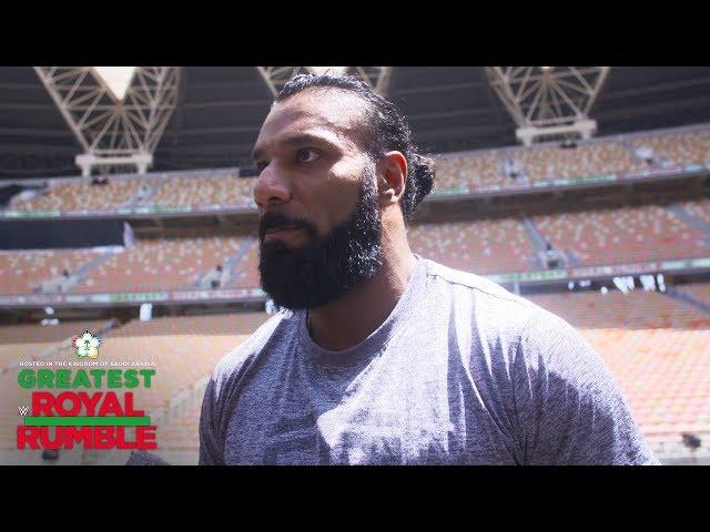 Jinder Mahal aims to prove himself a hero in Saudi Arabia: WWE Exclusive, April 27, 2018