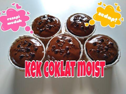 kek-coklat-moist-kukus-sukatan-cawan-|-resepi-mudah-dan-senang.-bahan-bahan-simple