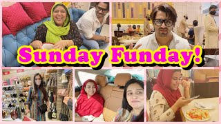 Sunday Spent the right way| We Ate Shopped & Bought gift for Ammi ❤️ | Ibrahim Family