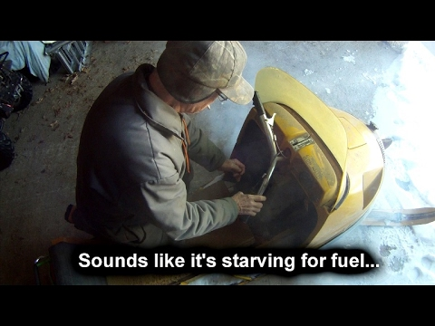 Will seafoam fix my boggy snowmobile? Bog series #7 Polaris