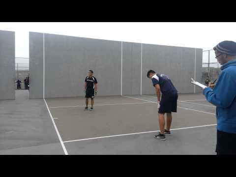 FLHS vs BNCHS semi finals first singles