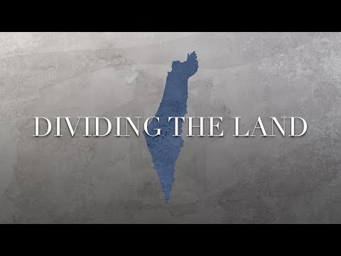 What Does God Say About Dividing The Land Of Israel?