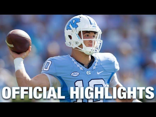 sale retailer 39f4d 0651c Mitch Trubisky Official Highlights | North Carolina ...