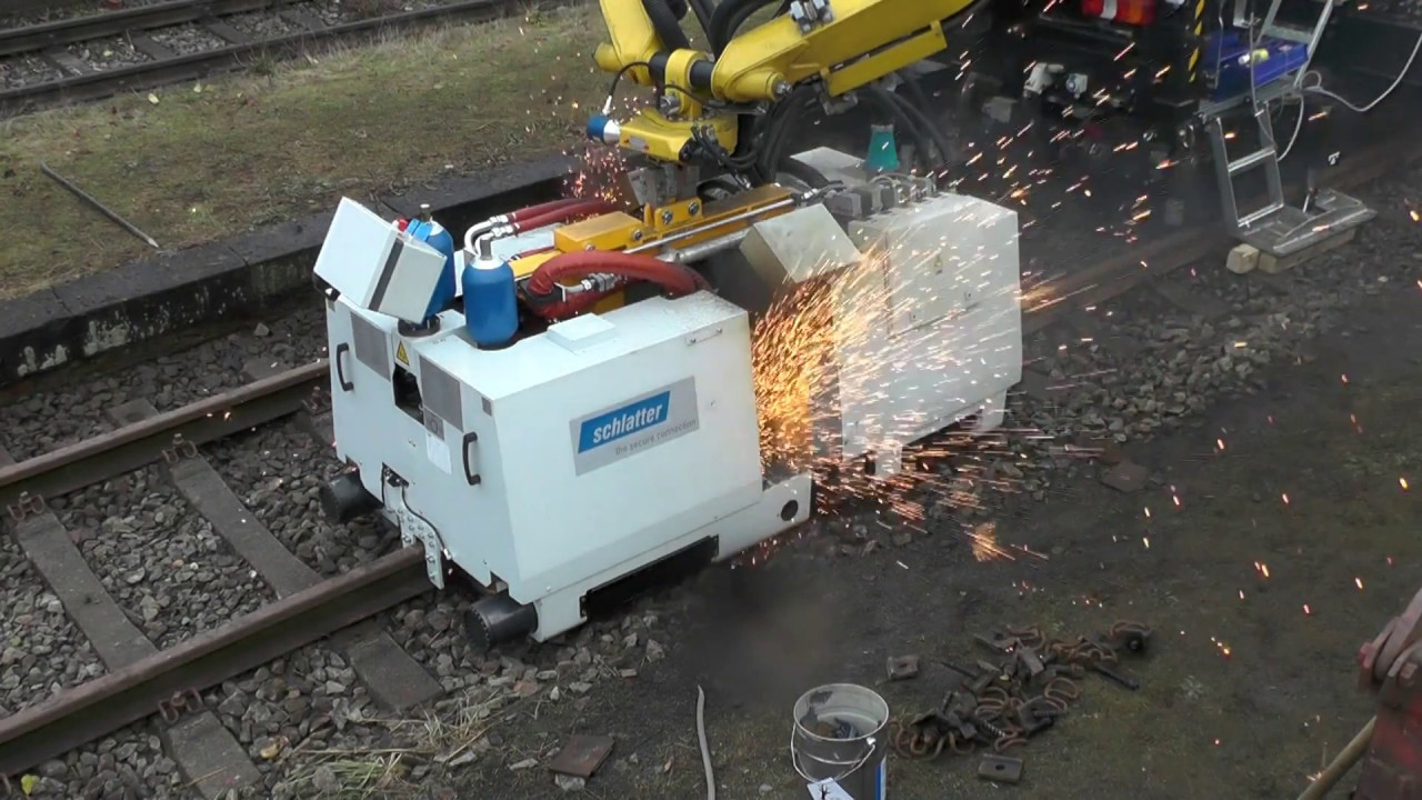 AMS200 Rail Welding Machine Supra Roadflex: Track Repair