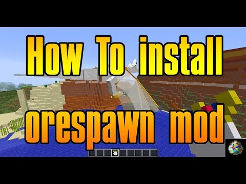 How To Install Orespawn Mod 1.7.10 Minecraft Cracked Or Premium