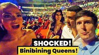 Foreigners sneak into Binibining Pilipinas 2019 VIP area!