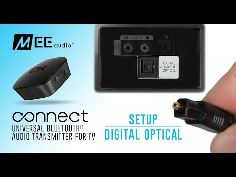 MEE Audio Connect Bluetooth Audio Transmitter For TV | Using Digital Optical