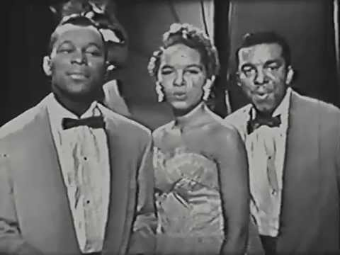 The Platters - The Great Pretender - 1956 Live