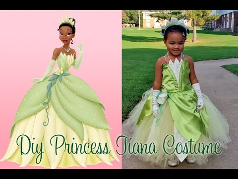 DIY Princess Tiana Costume Part 1  YouTube