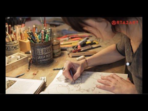 Beatrice Alemagna / Entretien exceptionnel