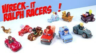 Happy Meal RALPH BREAKS THE INTERNET Racers Cars Full Set McDonalds