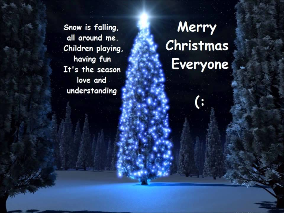 shakin merry christmas everyone lyrics youtube