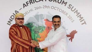 شوف الصحافة : الملك يحرج الجزائر في قمة الهند و إفريقيا