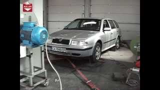 Skoda Octavia I 1.9TDI 110hp AHF ADLER AUTO Godech Bulgaria Dynojet 224xLC Dyno