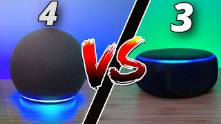 New Amazon Echo Dot 4 vs 3 - Should You Upgrade?