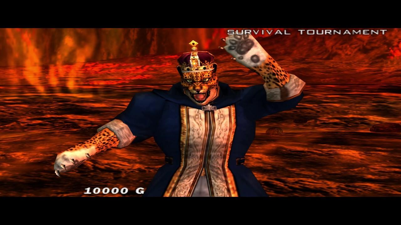 divine fist Tekken