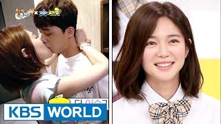"Elijah talks about her kissing scene with ParkSeojun!…""I was so nervous!""[Happy Together/2017.08.31]"