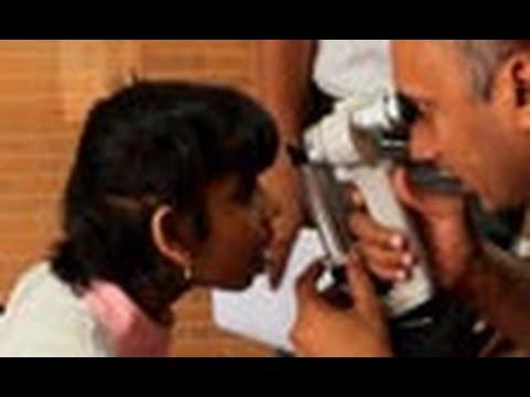 Eye Camp at Sri Rakum School for the blind