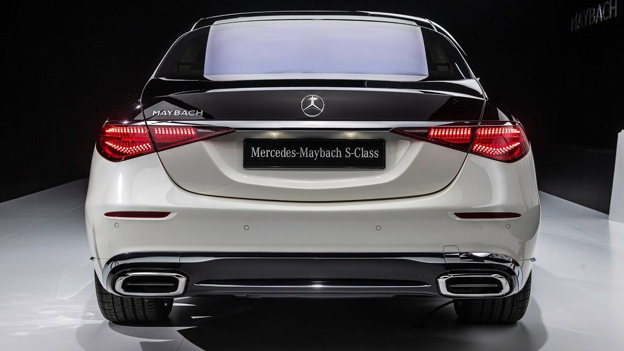 2022 Mercedes Maybach S580 - вътрешен екстериор и задвижване (Най-добрият луксозен седан в света)