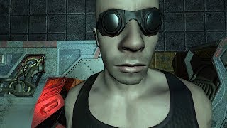 The Chronicles of Riddick Escape from Butcher Bay [Full Playthrough + All Cigarettes] Cz Version