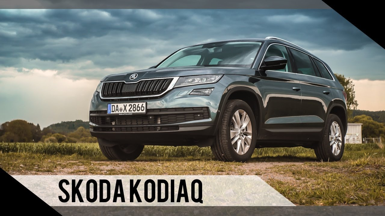 skoda kodiaq 2017 test review fahrbericht motorwoche youtube. Black Bedroom Furniture Sets. Home Design Ideas