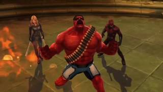 Marvel Future Fight- Fun Times With Red Hulk  - World Boss Proxima Solo