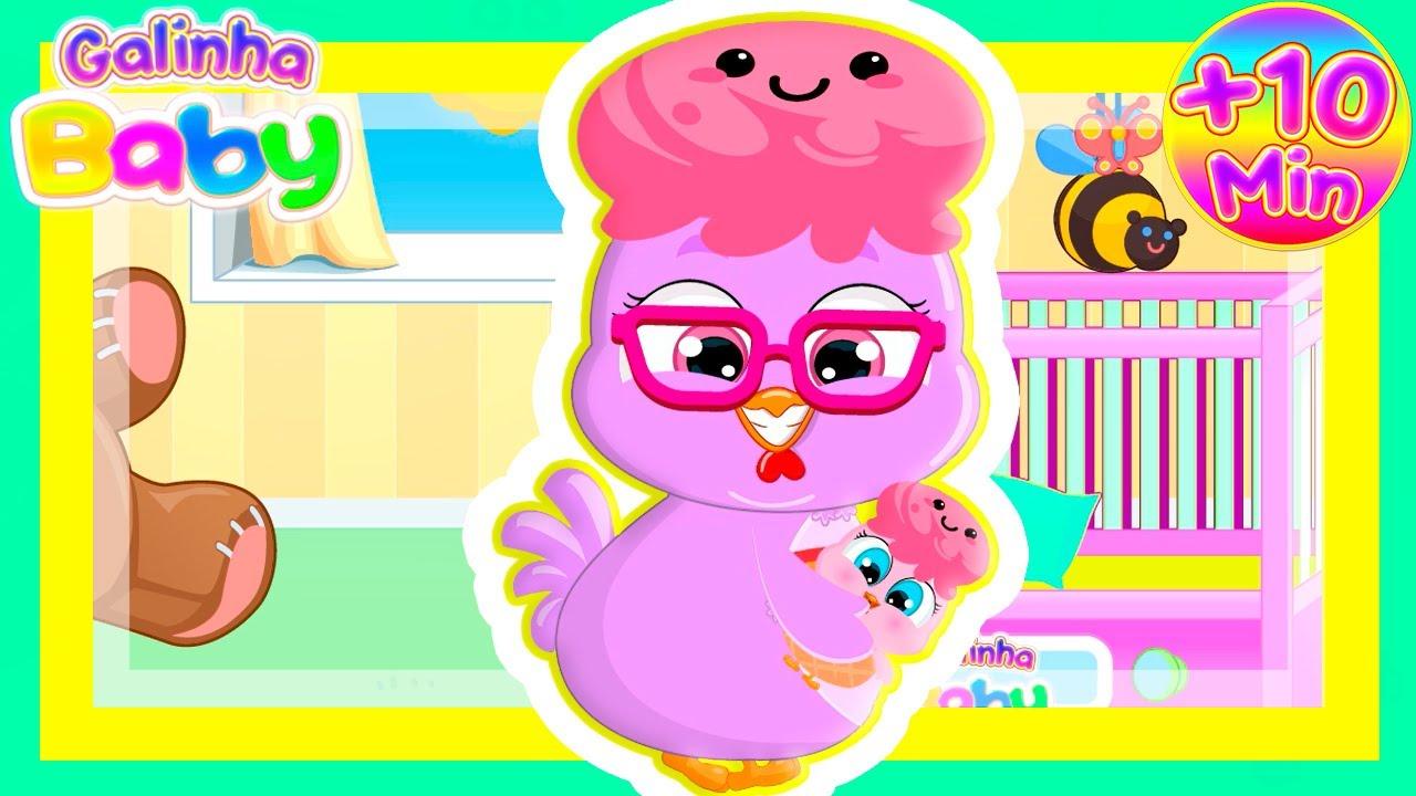 Samba, Samba, Samba Lelê - Sorvete Baby +10 Minutos de Música Infantil com Galinha Baby