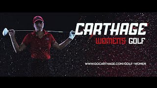 Carthage College Women's Golf Feature Video