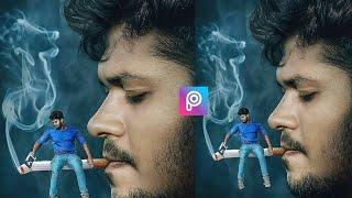 Smoker boy - Picsart  Manipulation photo Editing ! Awesome photo Editing ! Royal Editing