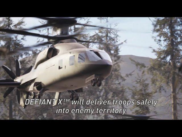 DEFIANT X: U.S. Army Future Long-Range Assault Aircraft