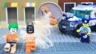 Lego Joker and Batman Prison Break | Brick Creation 🔴51