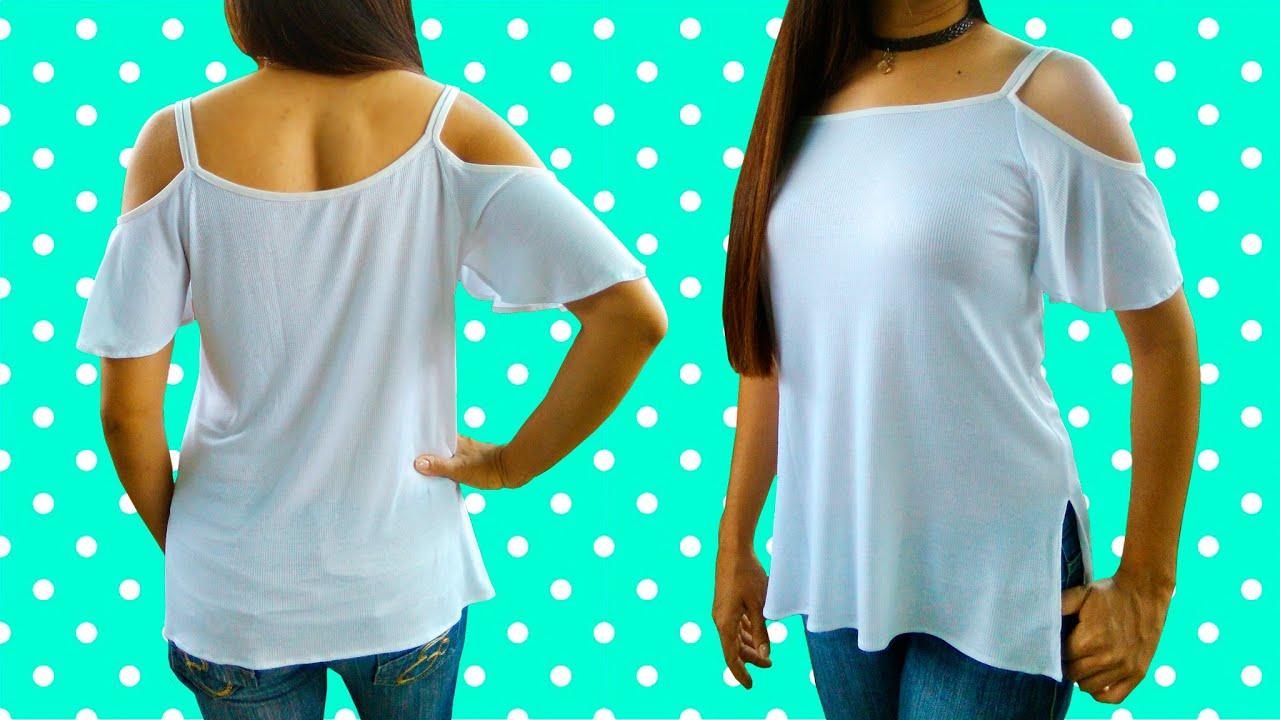 C mo hacer una blusa a la moda y con solo medio metro de - Colgador de tela con bolsillos ...