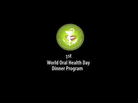 1st world oral health day