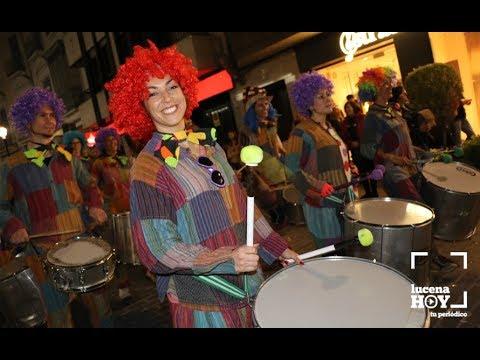 VÍDEO: La alegría y el colorido del Pasacalles de Carnaval de Lucena en este breve vídeo