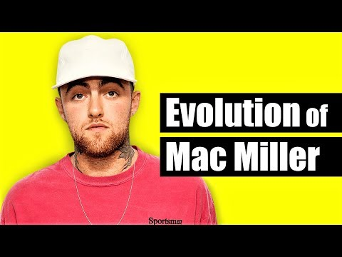 The Evolution Of Mac Miller (R.I.P.) [2007 - 2018]