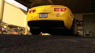 stock 2013 camaro 1lt rs v6 exhaust