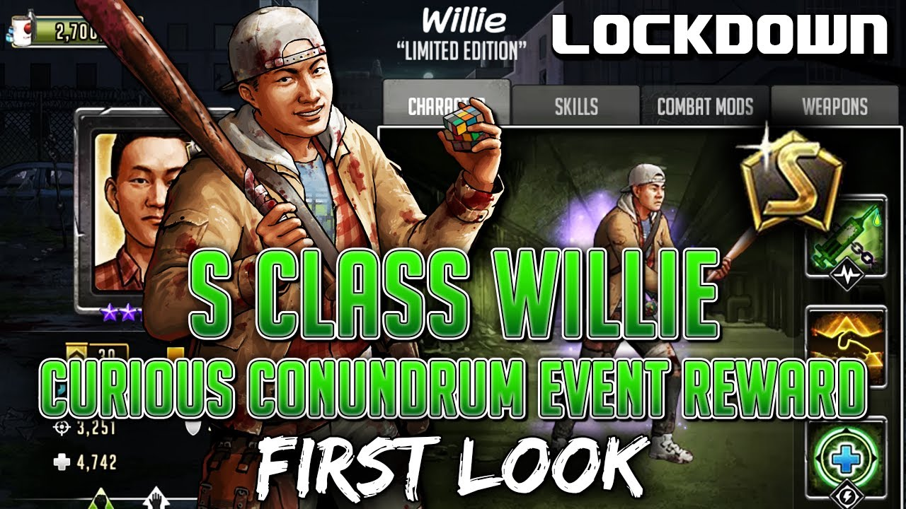 TWD RTS: S Class Willie, First Look & Trauma Gameplay - The Walking Dead: Road to Survival