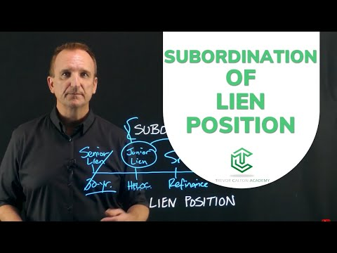 What is Subordination?